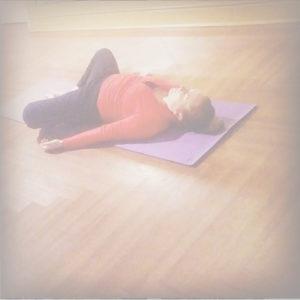 yoga savsana dissipate negative voice