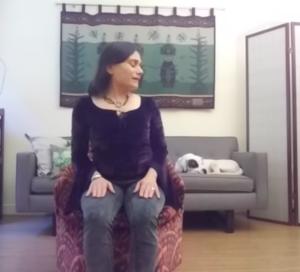 Yoga Posture Stretch Twist
