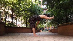 Halfway Lift, Ardha Uttanasana, yoga,legnth