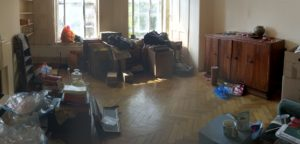 Refurb, clearing out, yoga