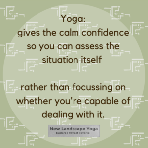 Yoga, self confidence